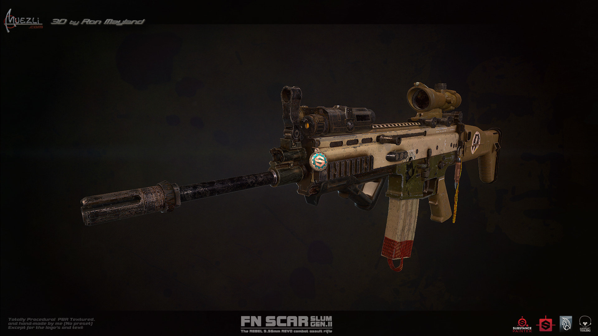 Ron mayland mk 16 front by ronmayland