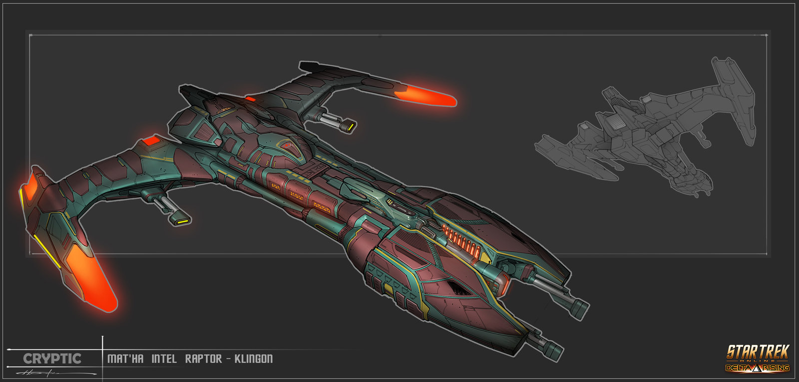 Mat'ha Intel Raptor - Klingon Empire