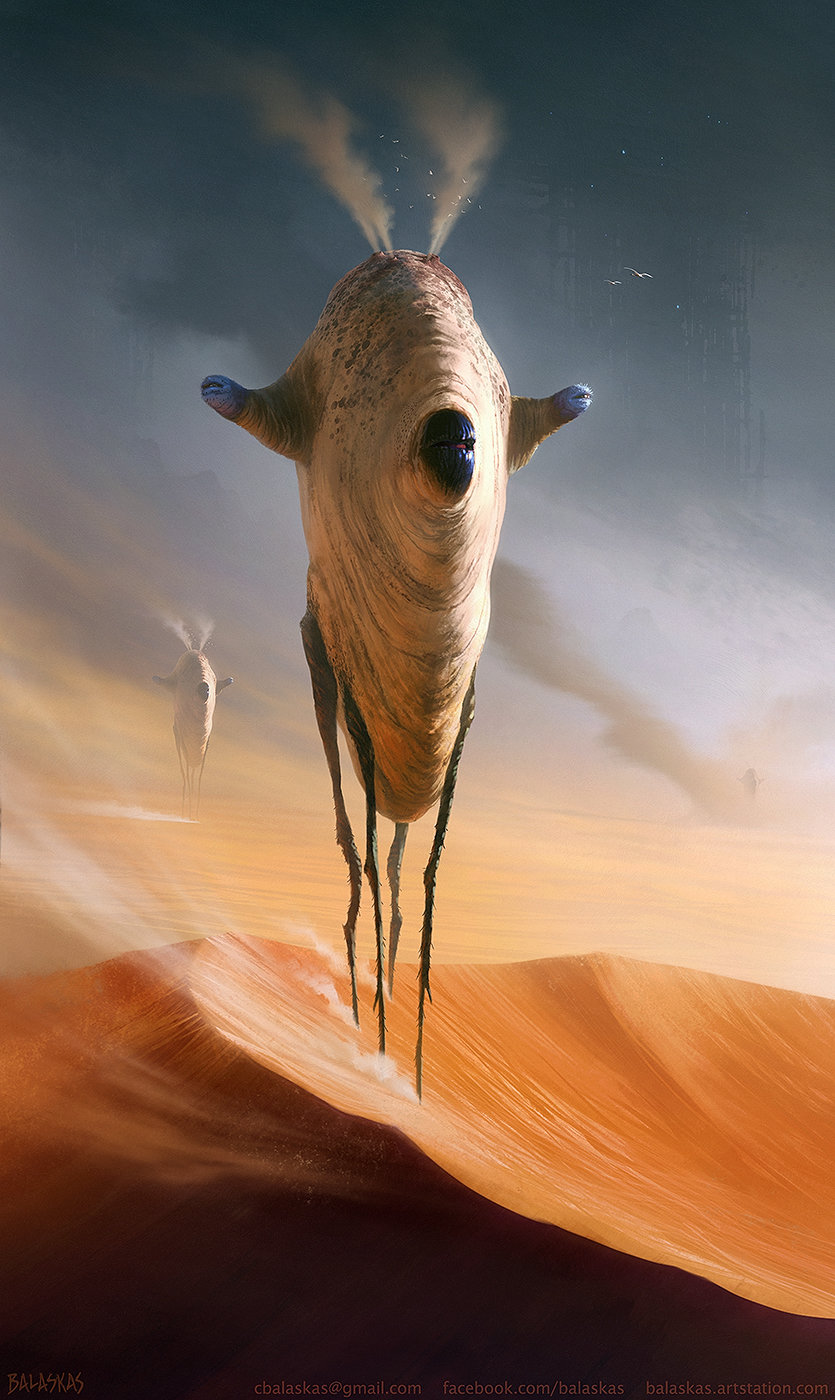 Christopher balaskas ancient dunewalker as