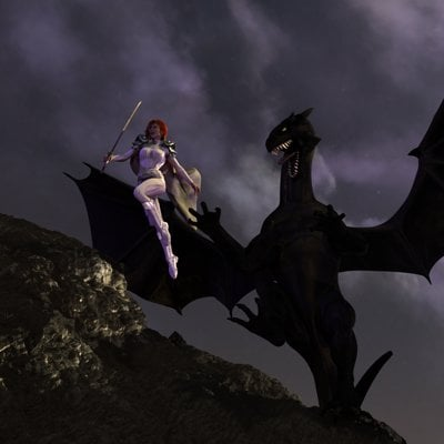 David roberson avonlea dragon flight