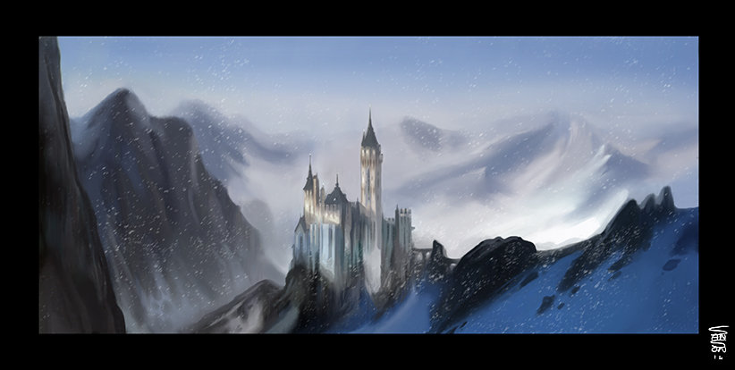 Ludovic sanson snow landscape2