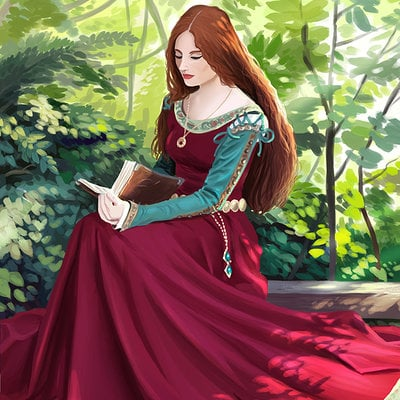 Ludovic sanson dame medievale4 bd