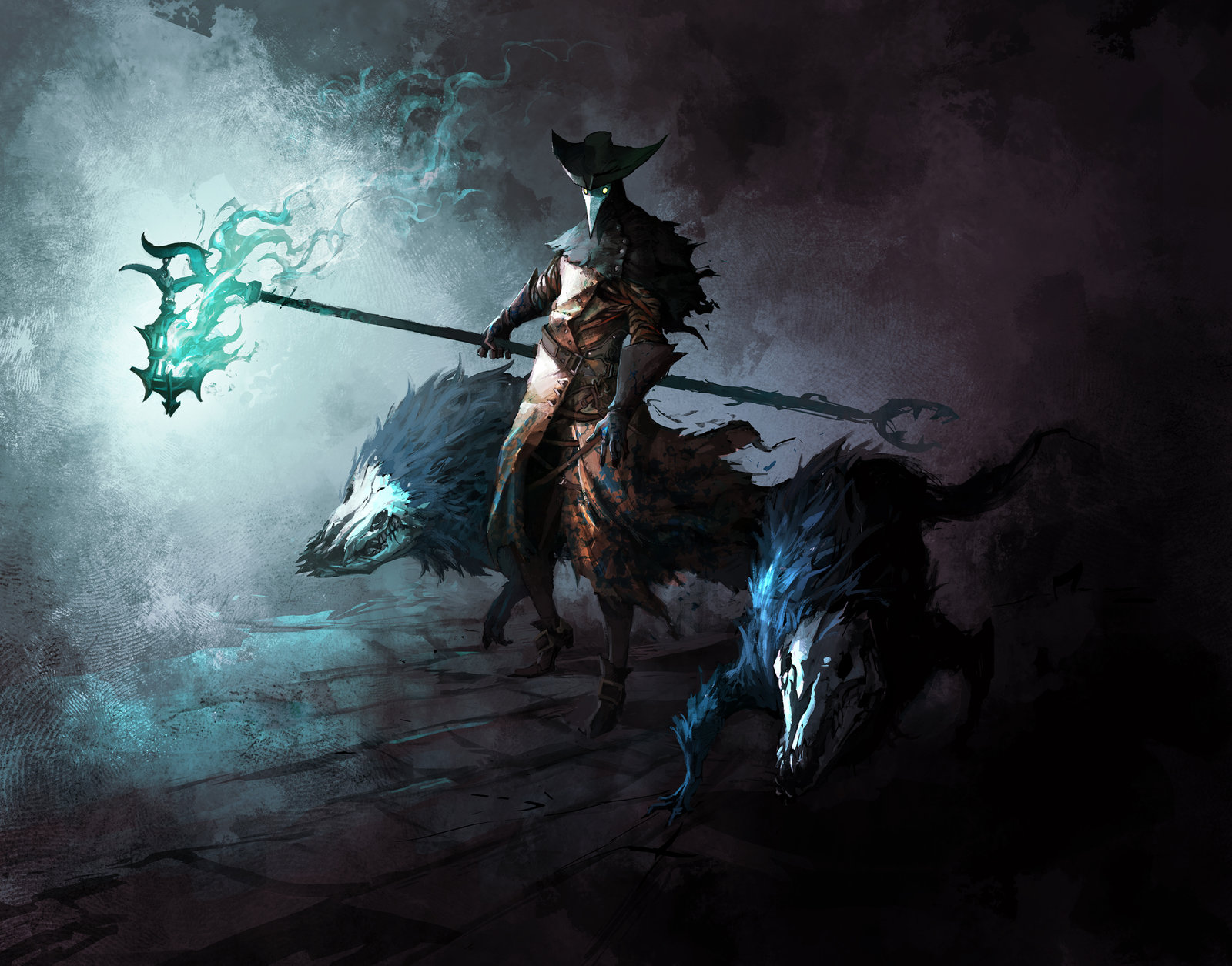 ArtStation - Castlevania Mirror of Fate Night Watchman Concept Art