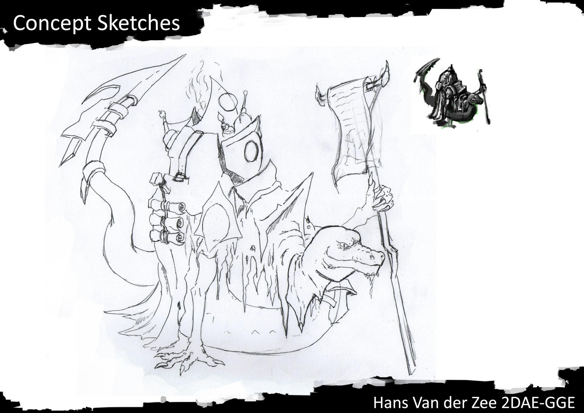 Hans van der zee 2dae van der zee hans exam concept sketches p3