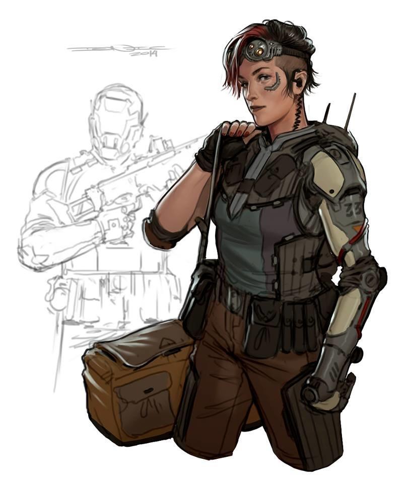 Anime Character Design Career : Artstation character sketch john grello