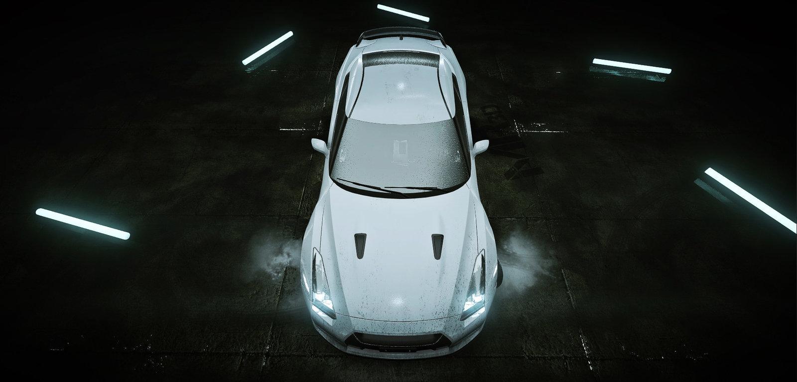 Nissan GTR Cryengine Render