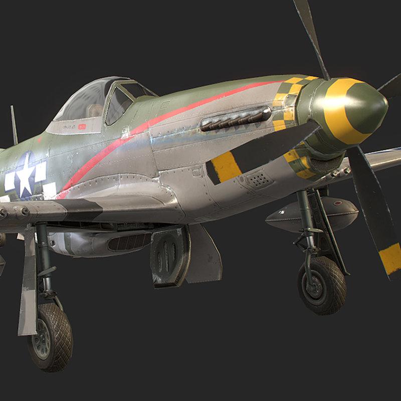 RealFlight Mobile - P-51 Mustang