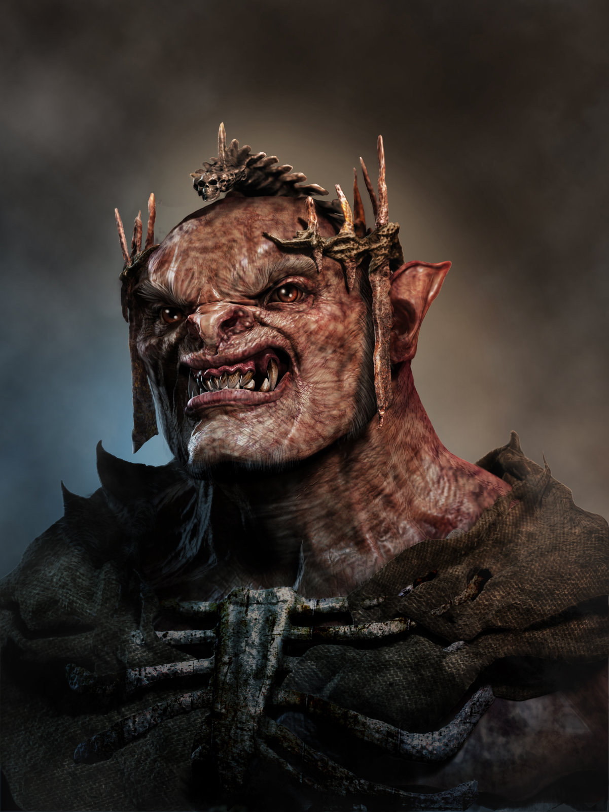 3D world Orc Cover Image