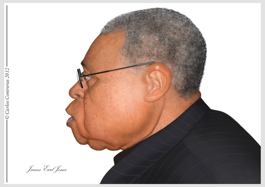 Carlos c james earl jones sig