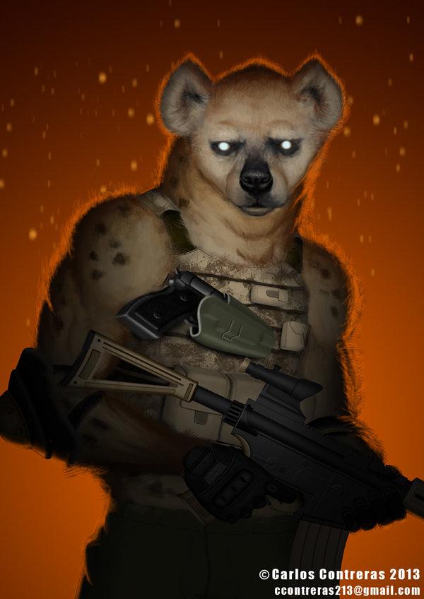 Carlos c hyenas sig