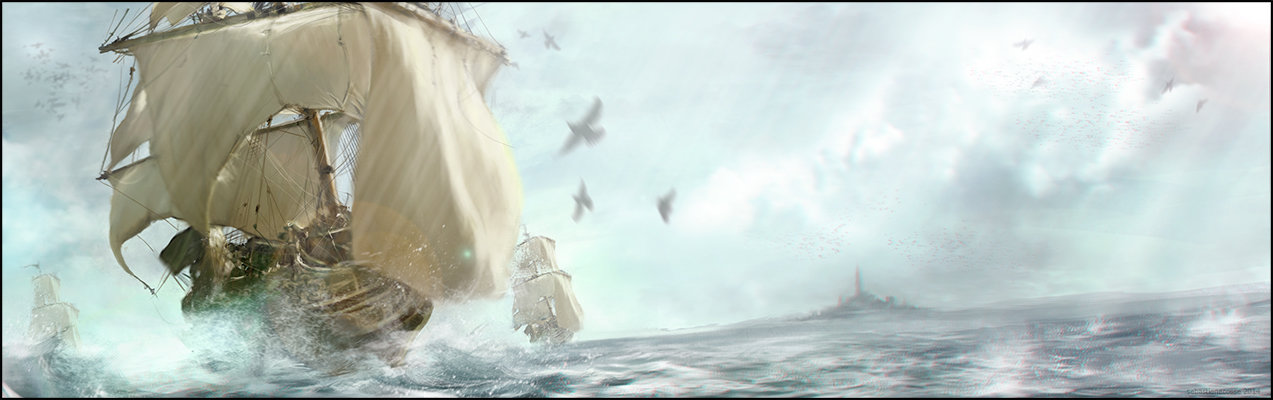 Sebastien ecosse artstation ship pirate study storm sebastien ecosse navire blog 1