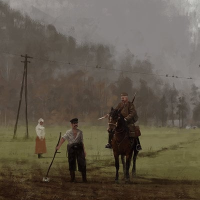 Jakub rozalski 1920 conscription small