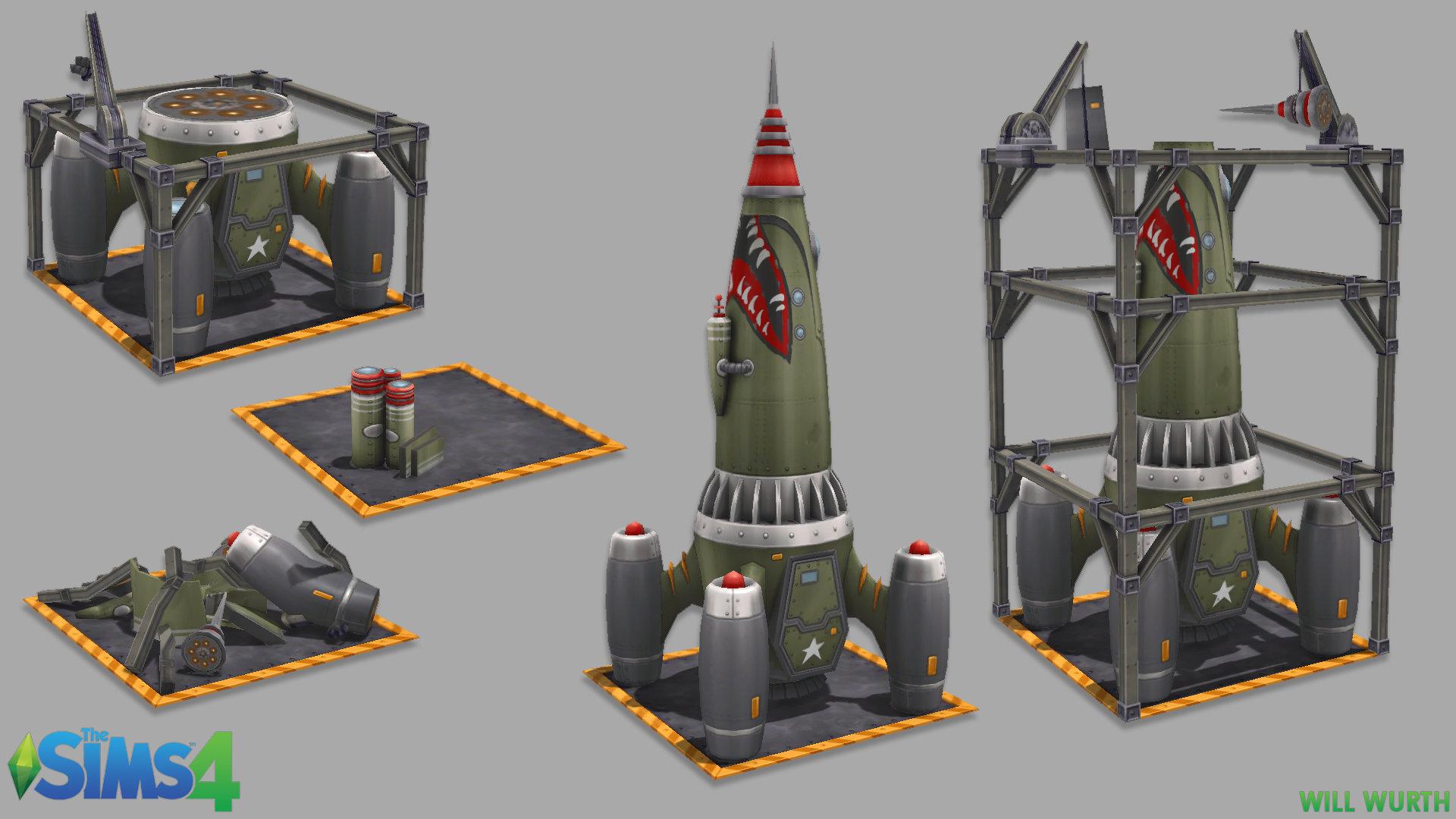 Will wurth ts4 rocket1