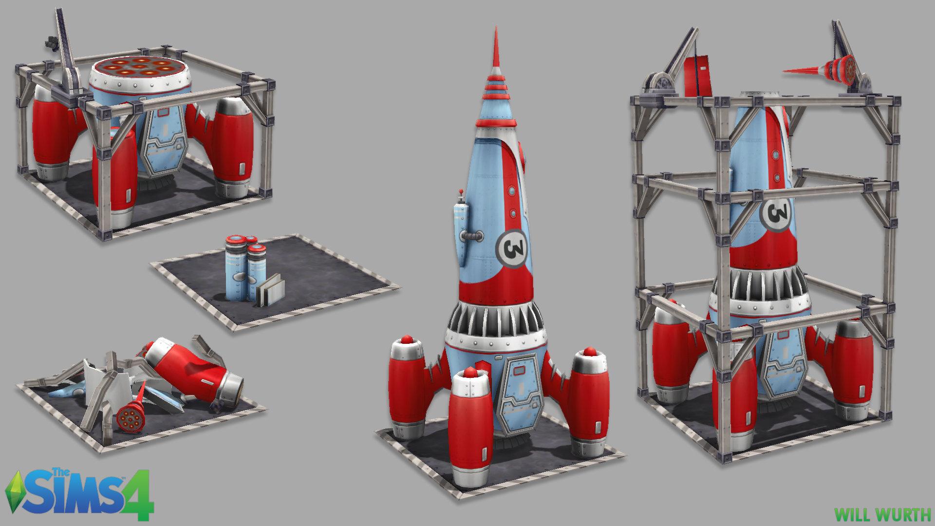 Will wurth ts4 rocket2