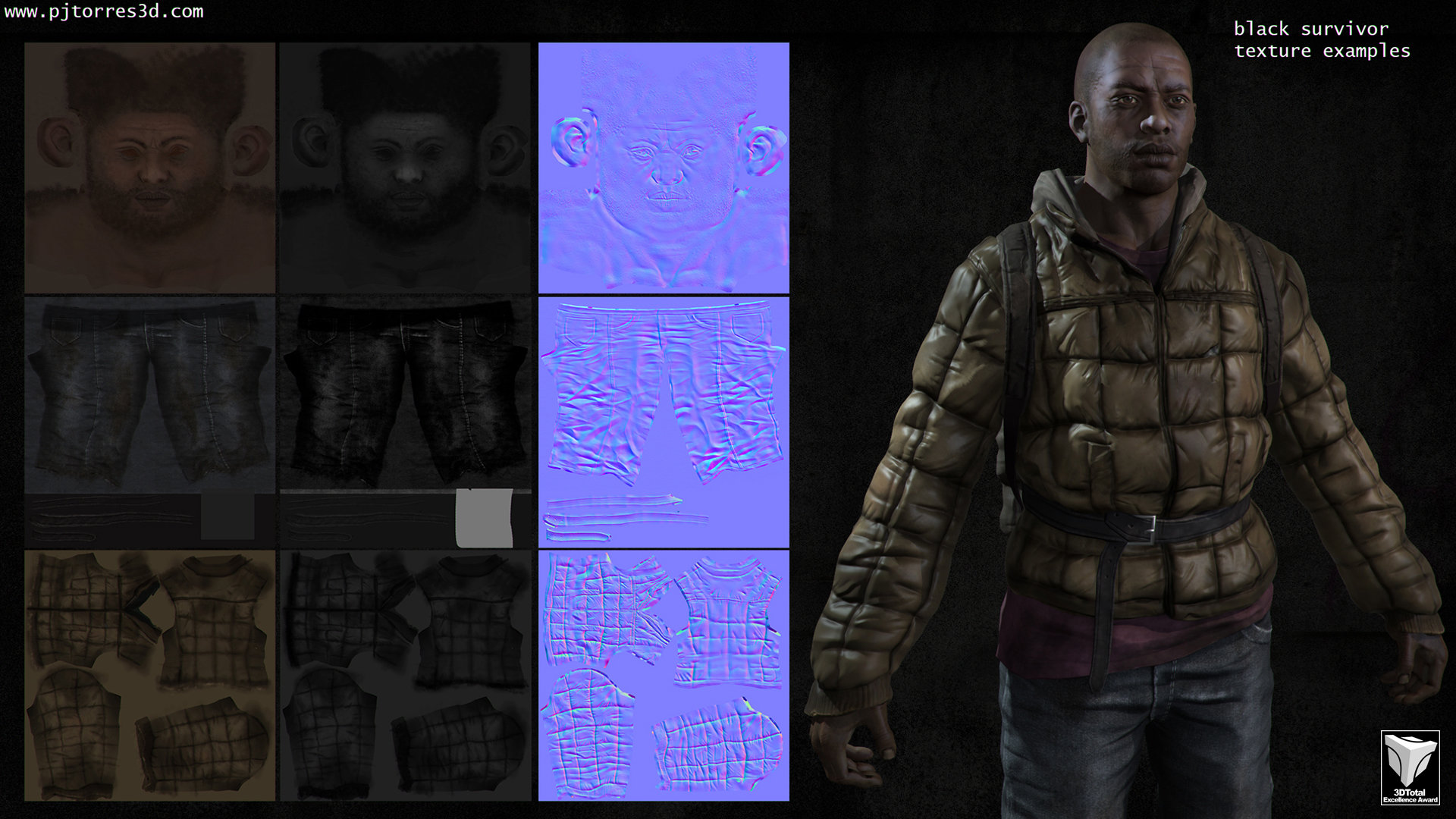 Pedro jose torres blacksurvivor textures