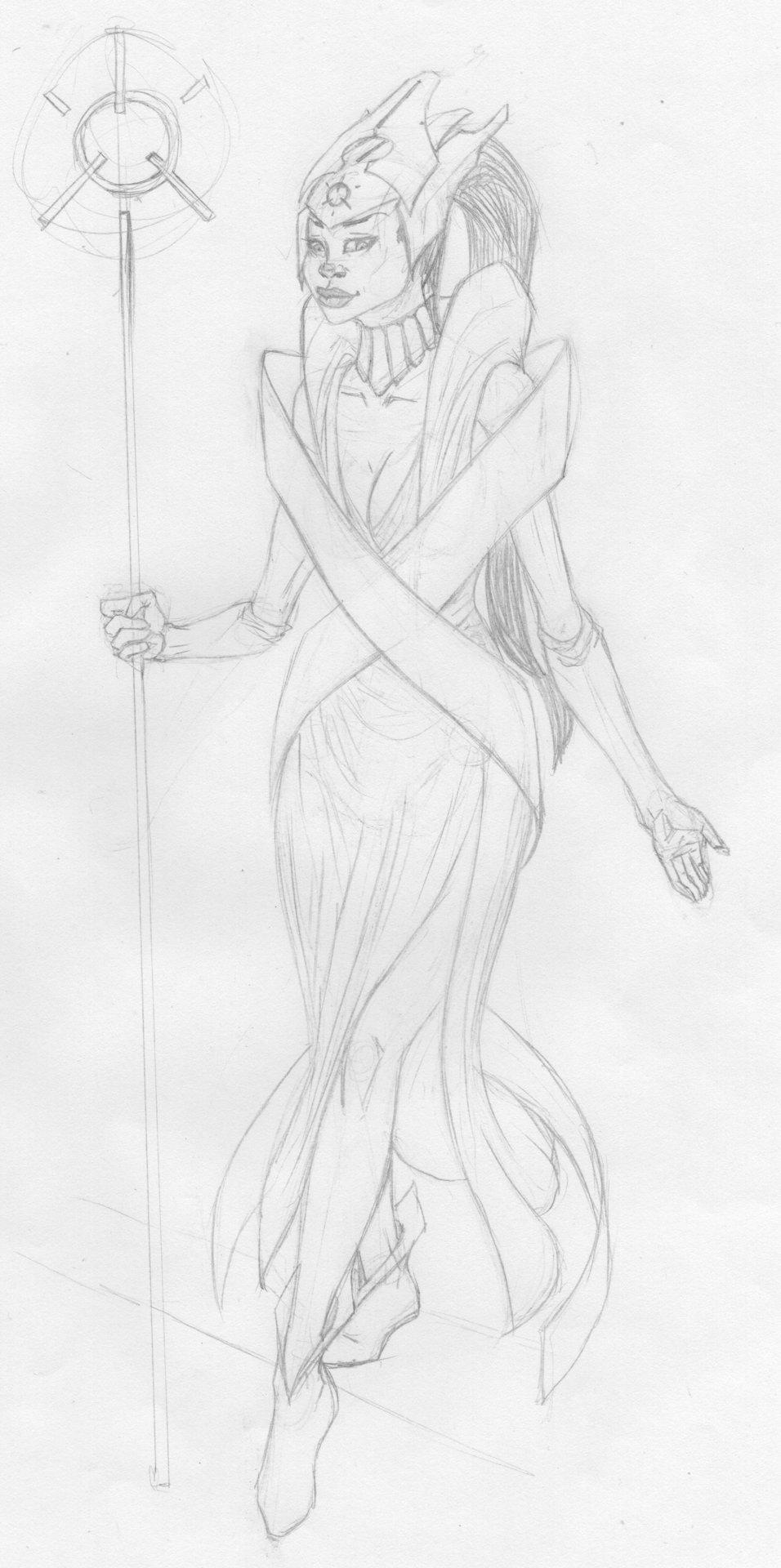 William calleja high priestess of the shrine