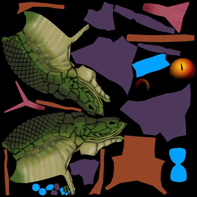 Joan casals snake head tx color