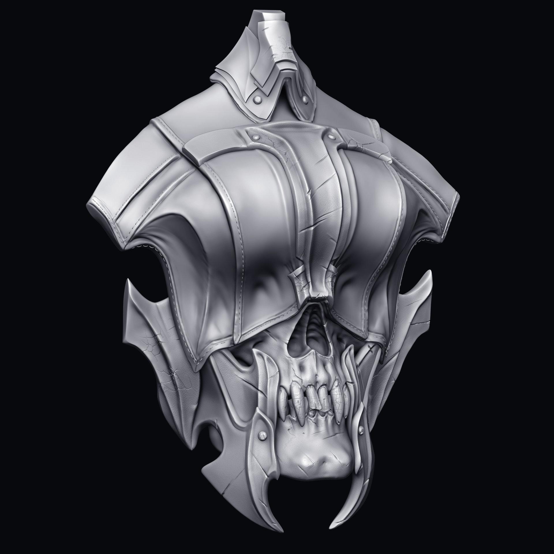 Solomon gaitan skull3quarter
