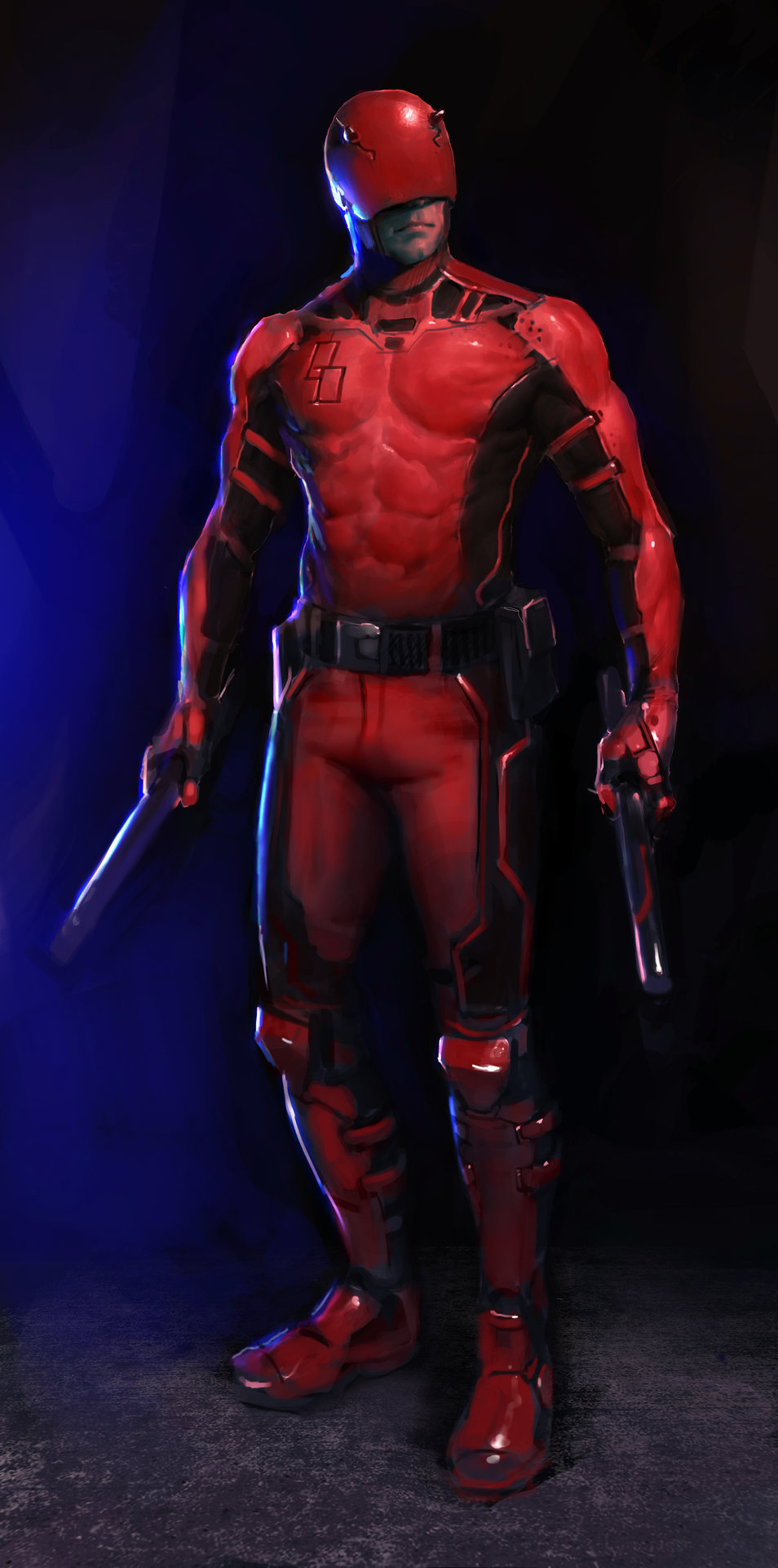 Lewis jones daredevil2