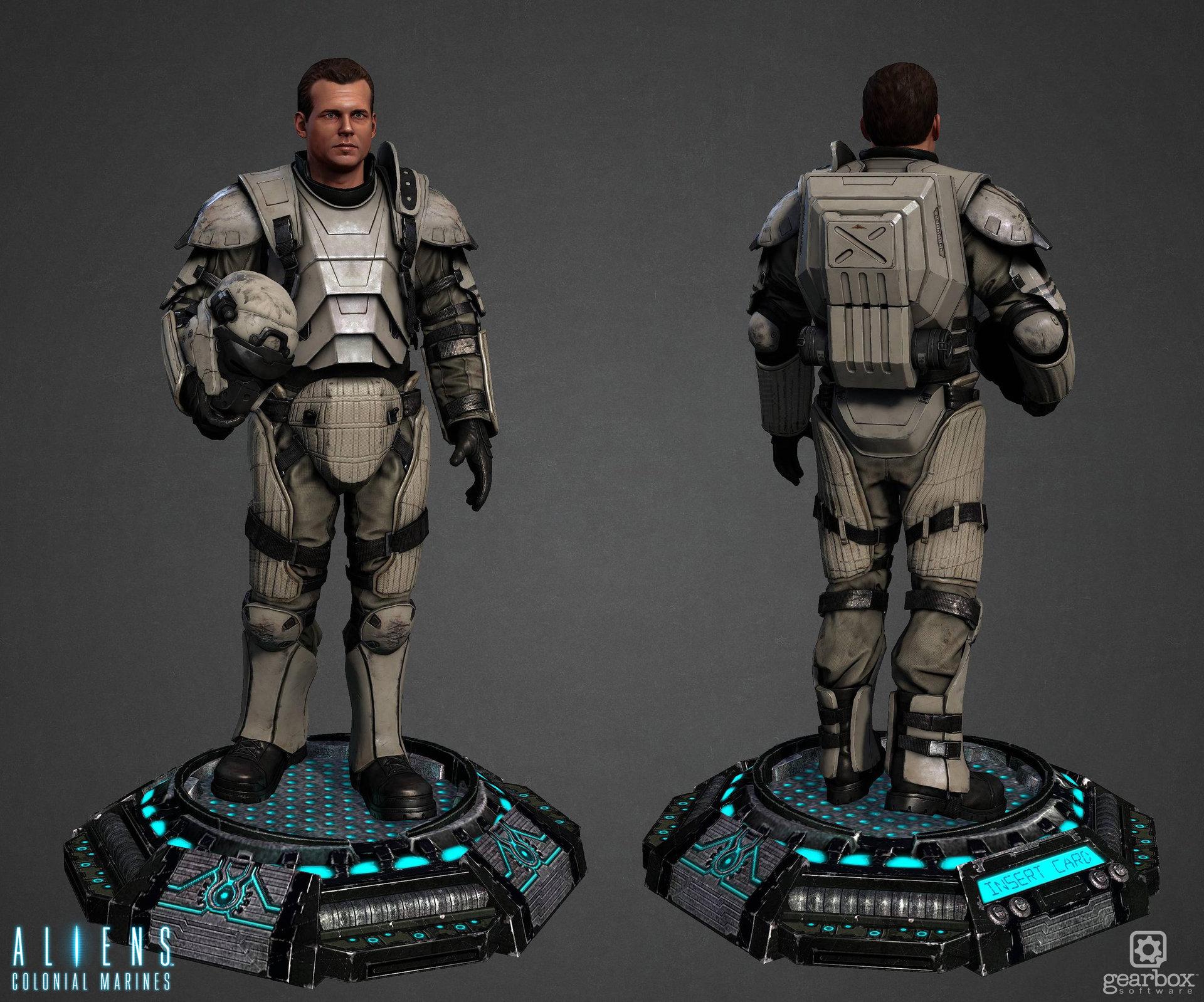 ArtStation - Hudson w/ Heavy Armor - Aliens Colonial Marines Tyler Bronis  sc 1 st  ArtStation & ArtStation - Hudson w/ Heavy Armor - Aliens: Colonial Marines Tyler ...