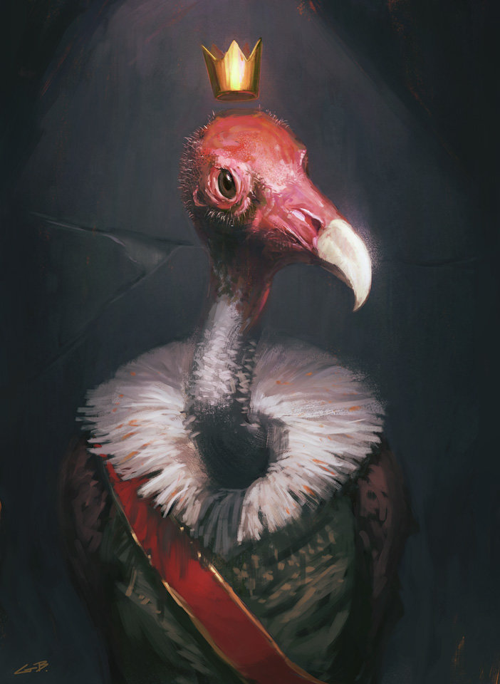 Greg bobrowski study 032 vulture king