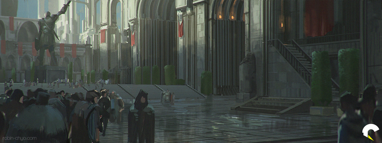 Robin chyo populace