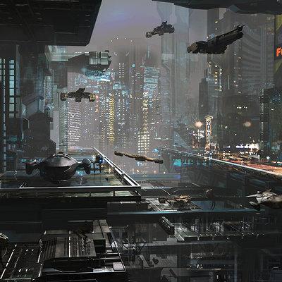 Maxime delcambre service station space
