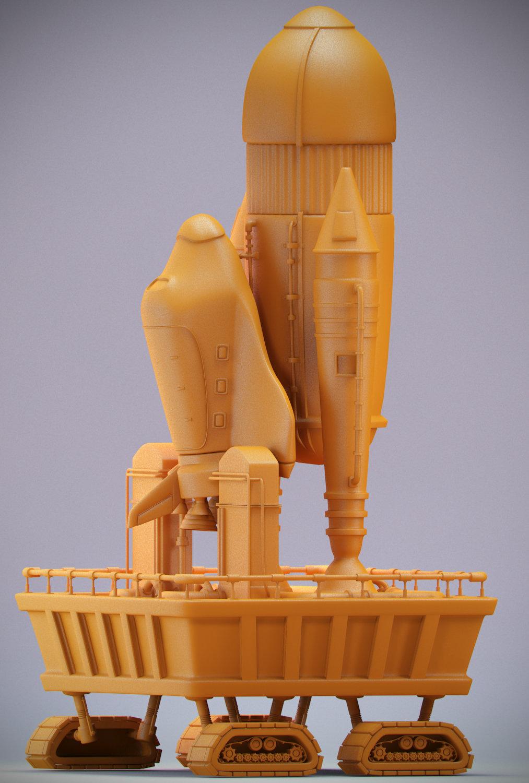 Fabricio campos space shuttle 02