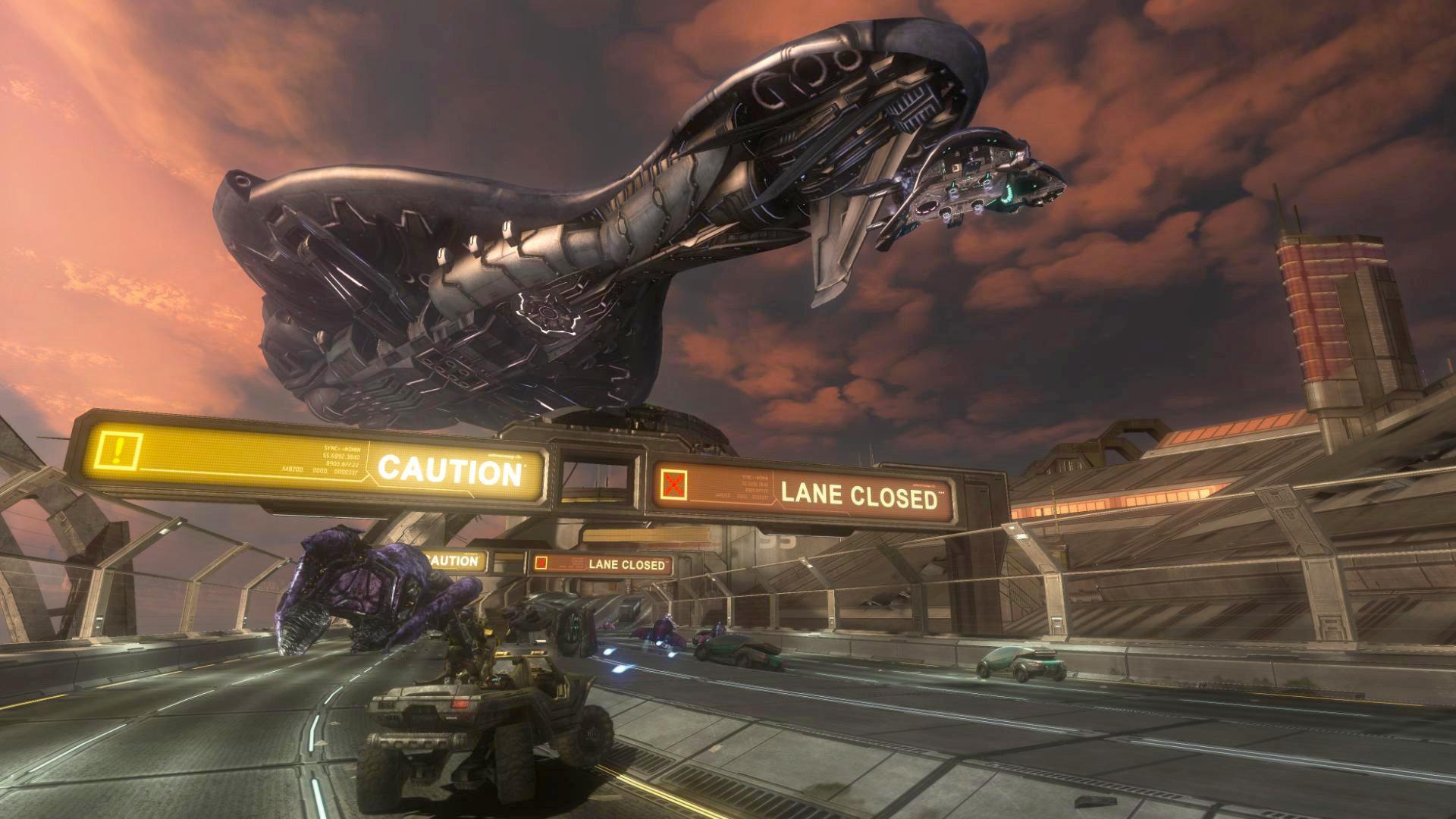 ArtStation - Halo 3 ODST: Covenant Fleet Ship 1 (3d hard surface model)  in-game, Milton Cadogan
