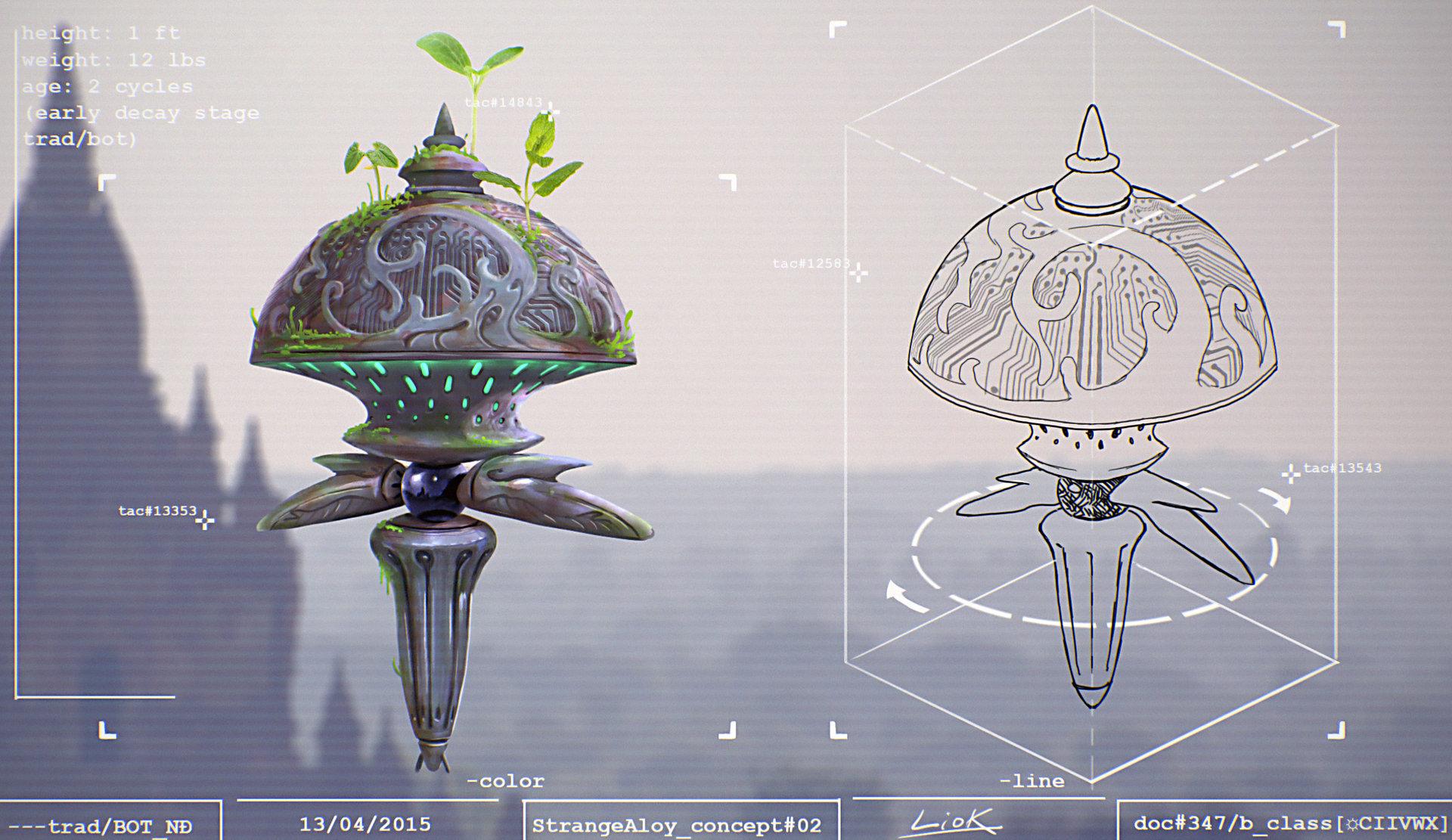 Loic bramoulle etrange alliage concept 02