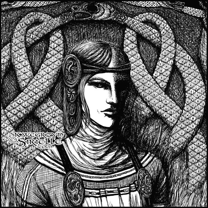 Karolina wegrzyn sirielle hel ink 2014 portrait