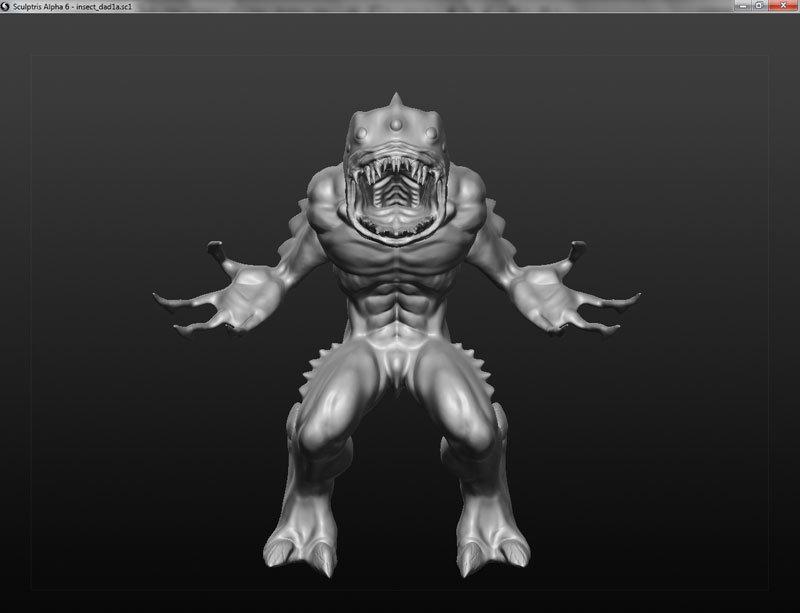 Janderson bittencourt dos santos jands monster sculptris03