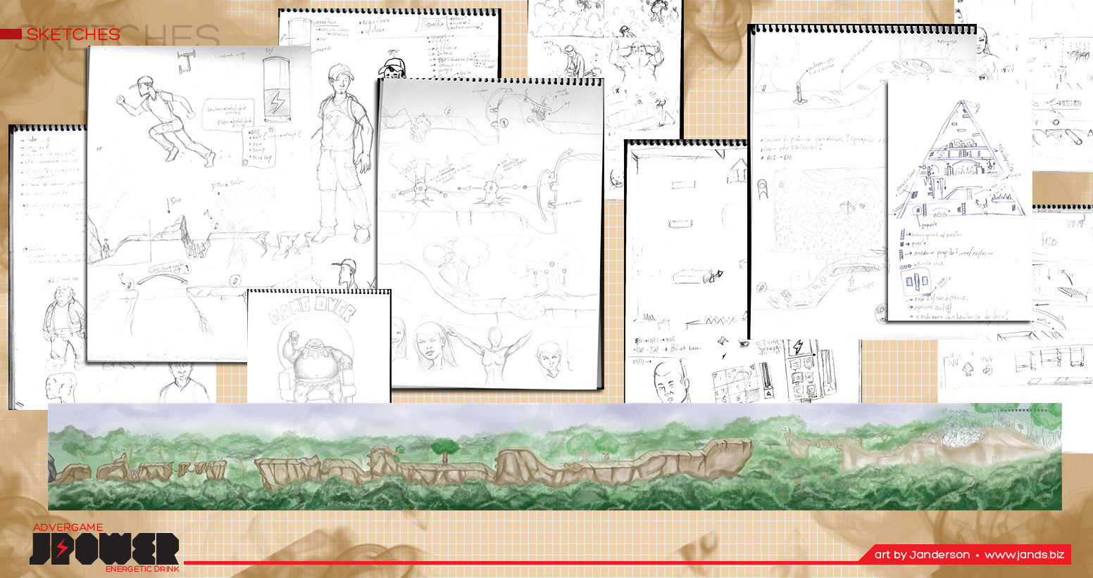Janderson bittencourt dos santos jpower sketches