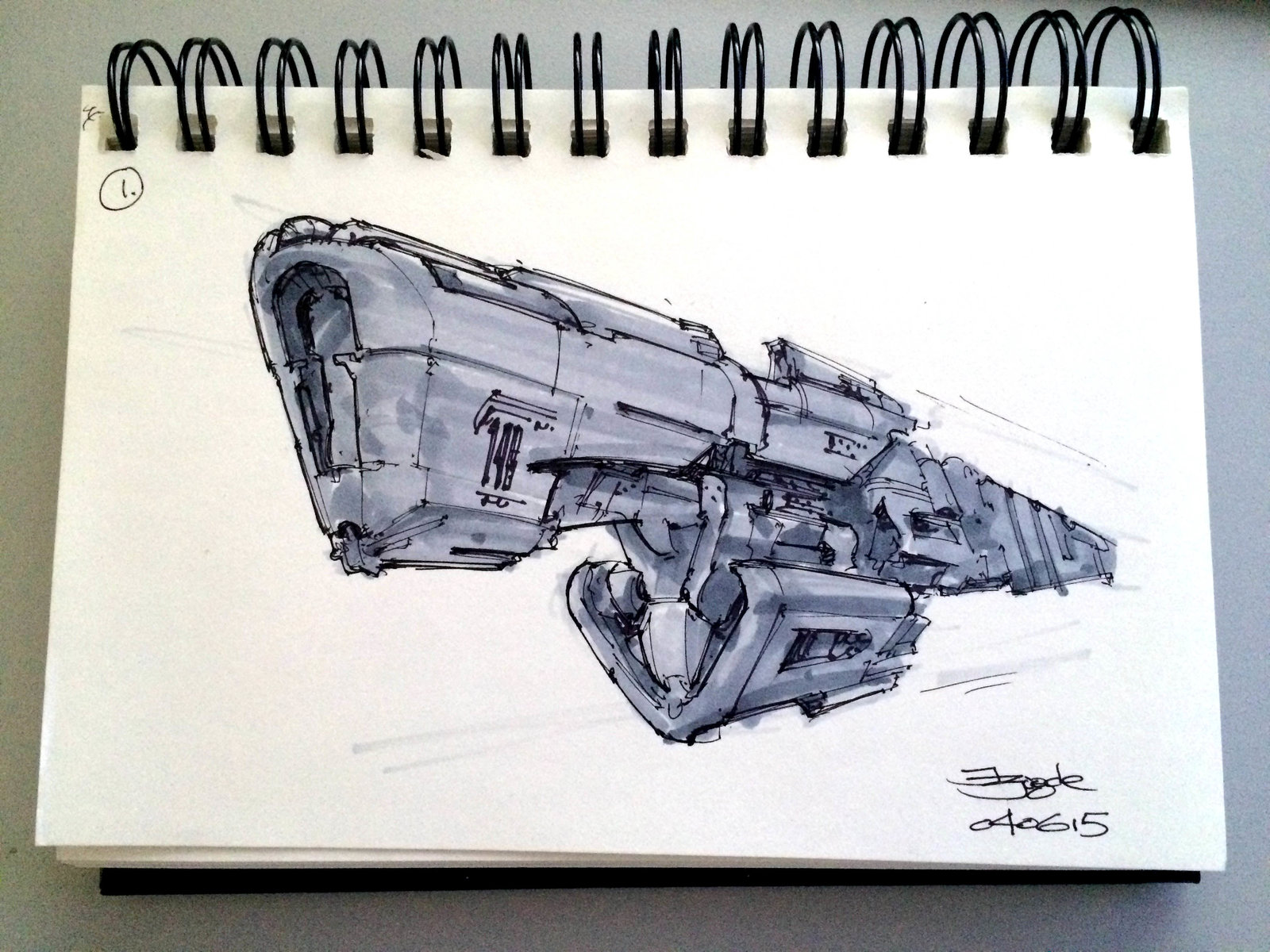 SpaceshipADay 001