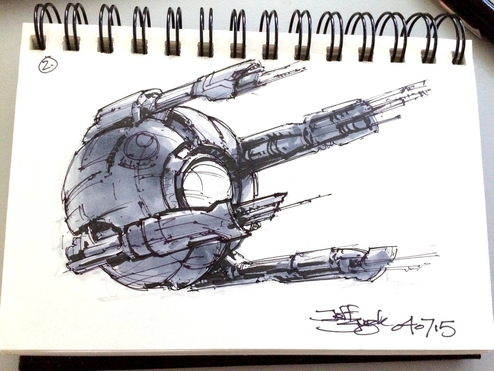 SpaceshipADay 002