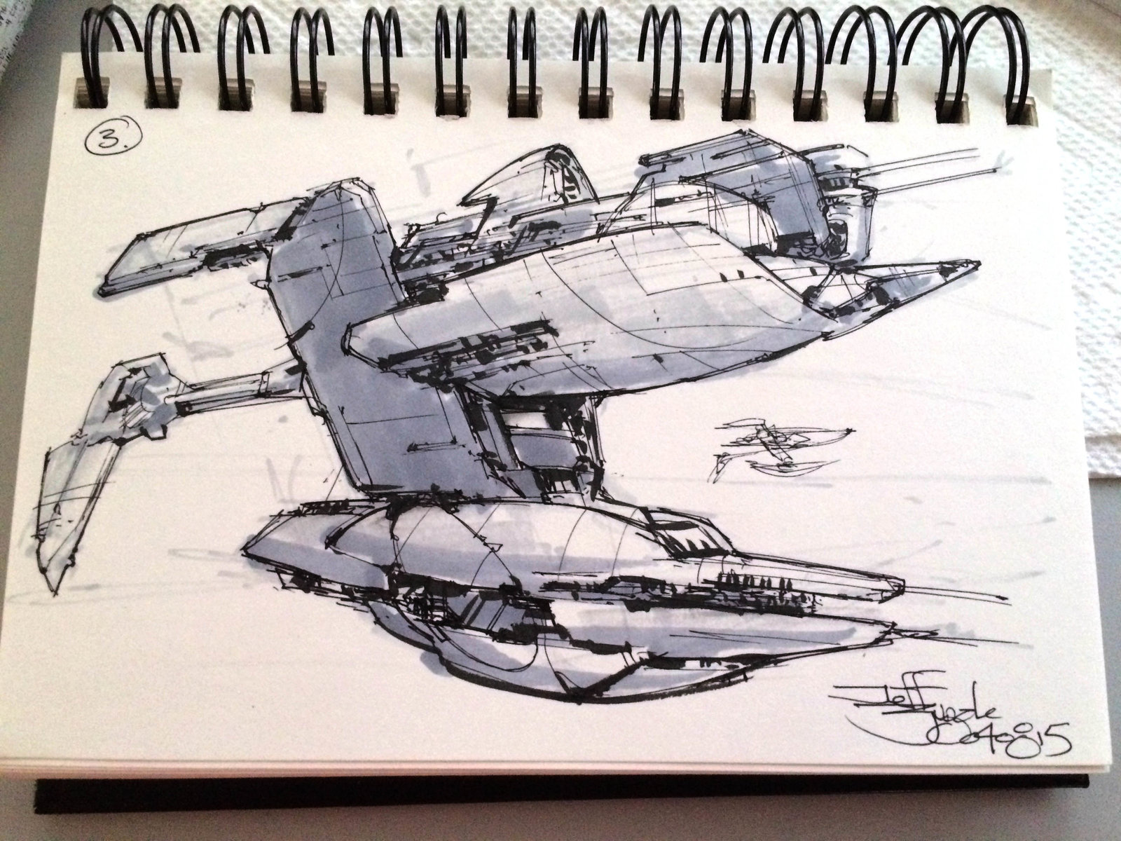 SpaceshipADay 003