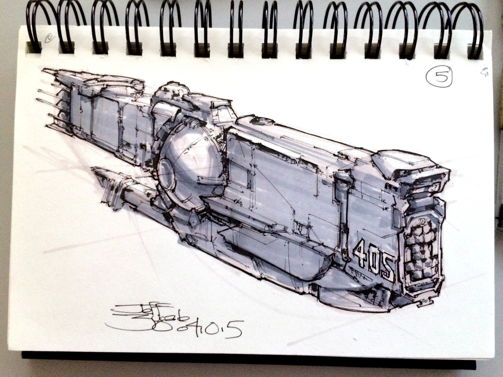 SpaceshipADay 005