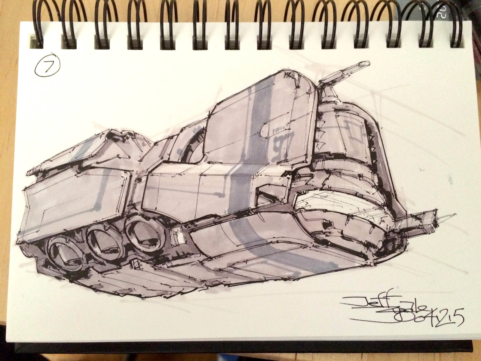 SpaceshipADay 007