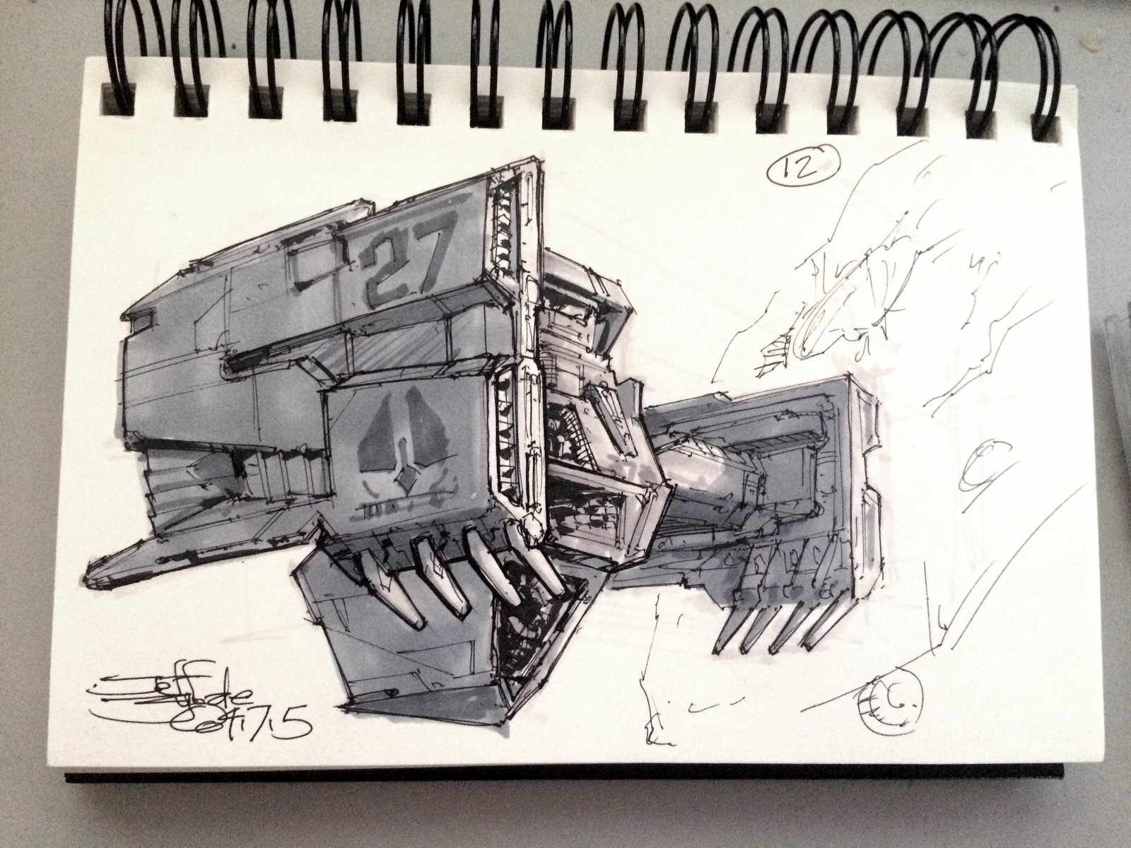 SpaceshipADay 012
