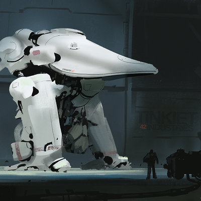 Yohann schepacz oxan studio white armorw
