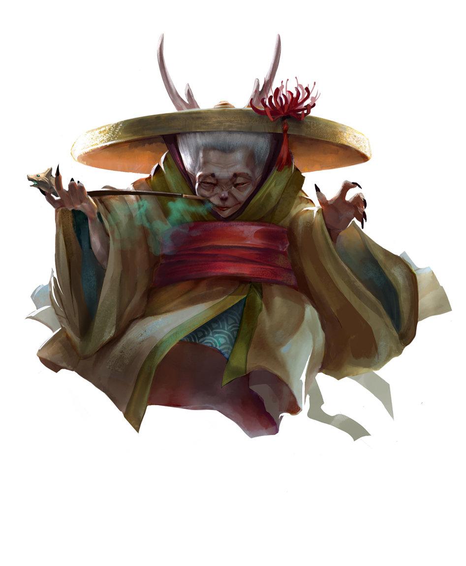 Anastasia Kustova Japanese Witch