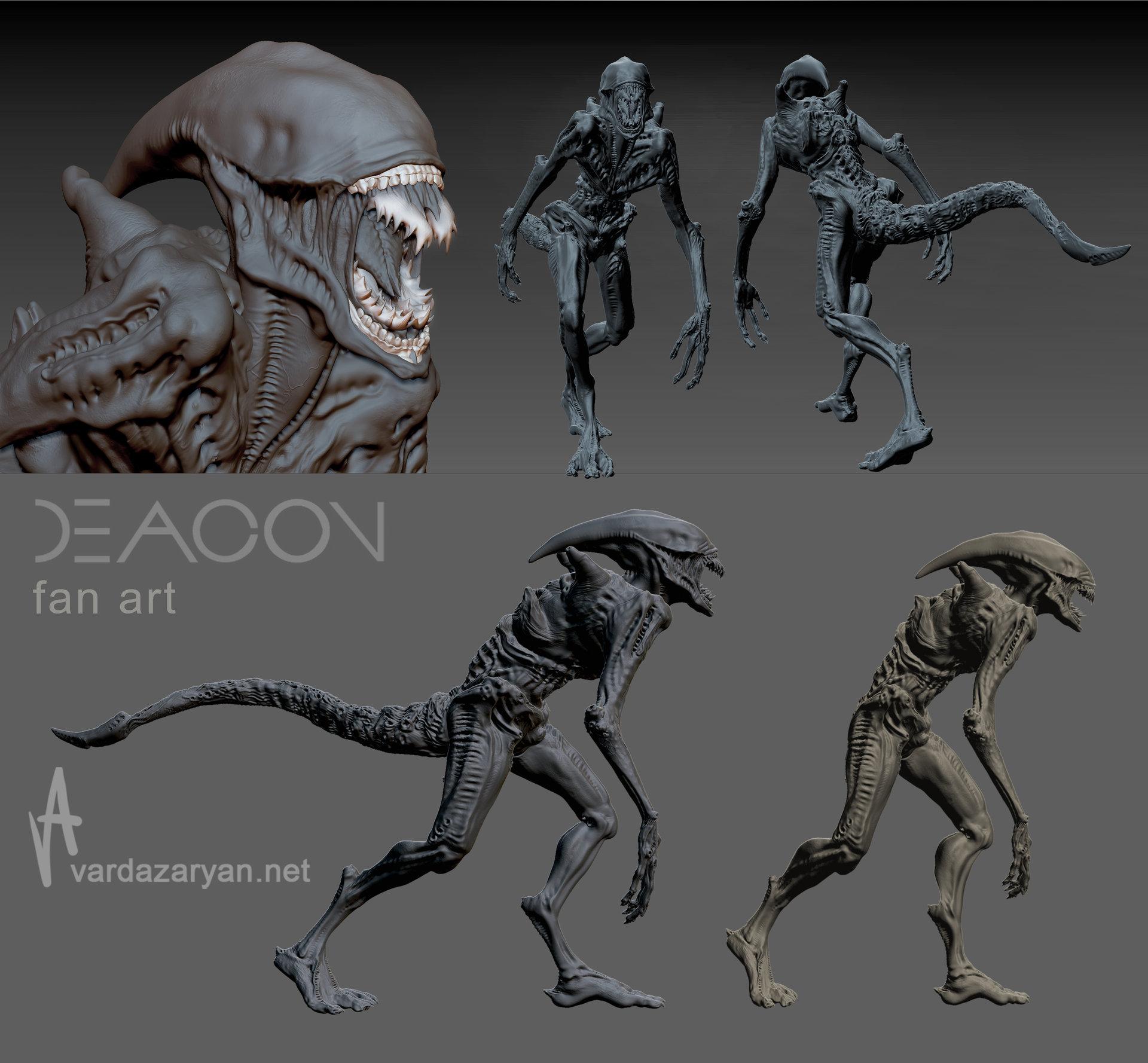 ArtStation - -Deacon-, Aram Vardazaryan