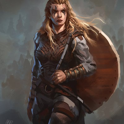 Raph lomotan female viking