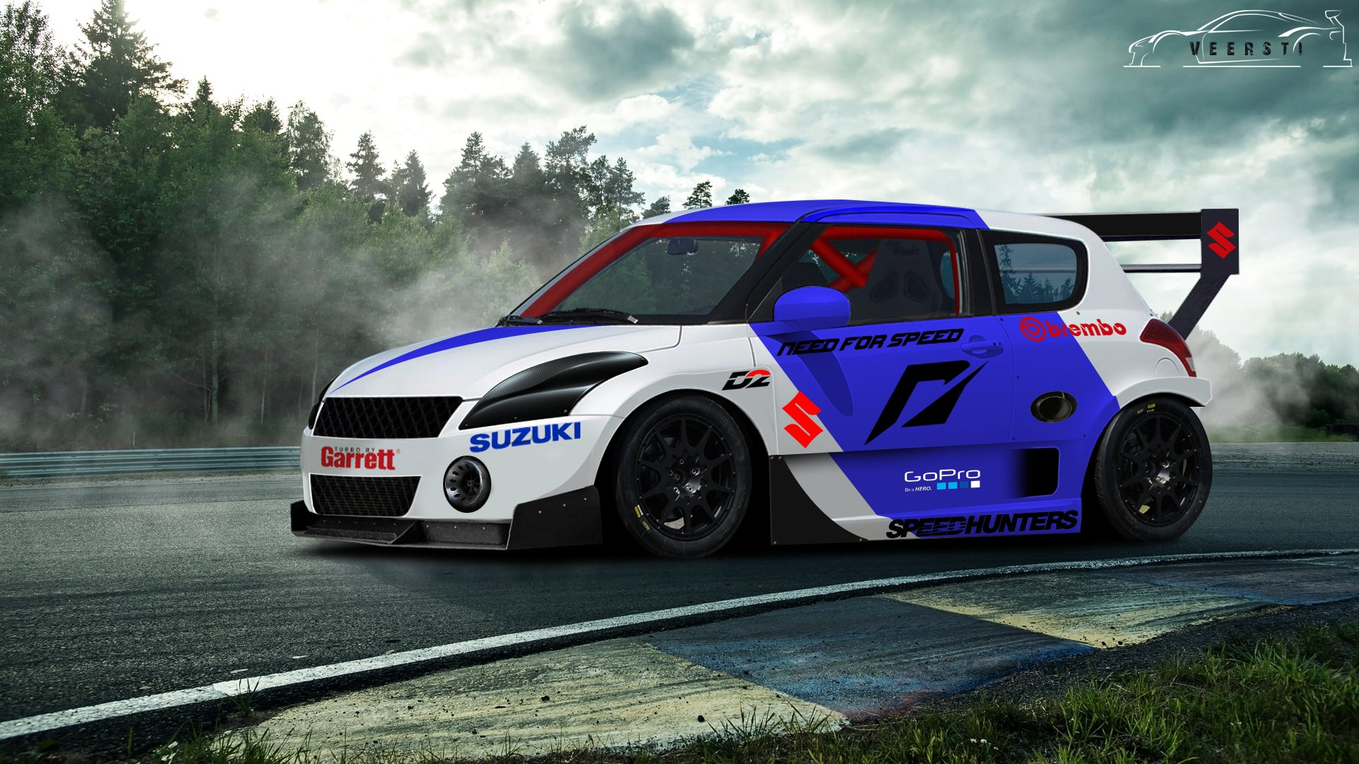 20a603ddd9ced ArtStation - Suzuki Swift Racing Concept
