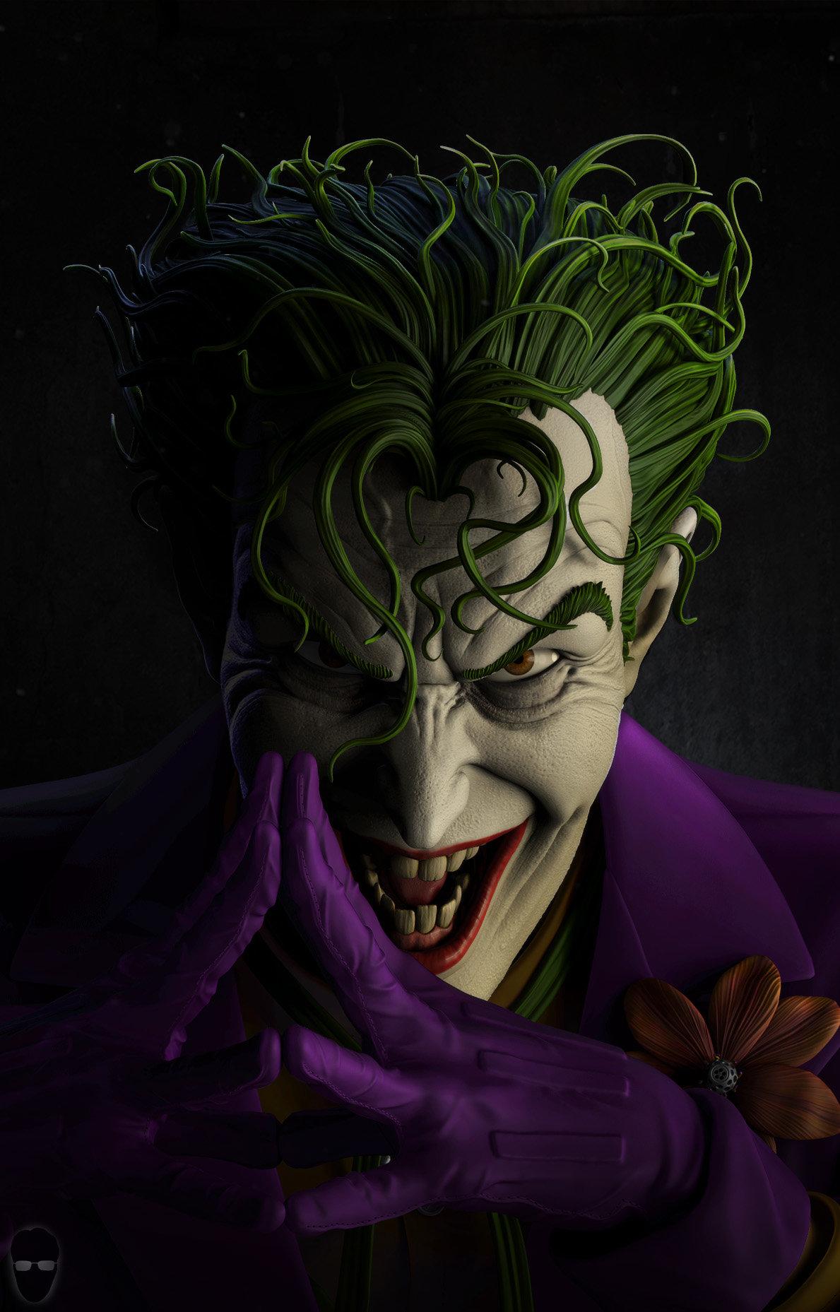 artstation joker fanart fabio di castro