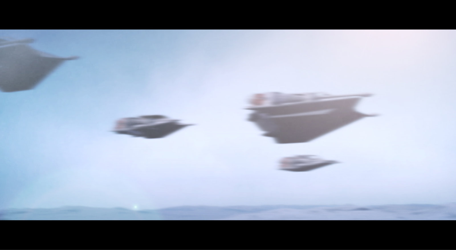 Rogue Squadron - Hoth Test movie