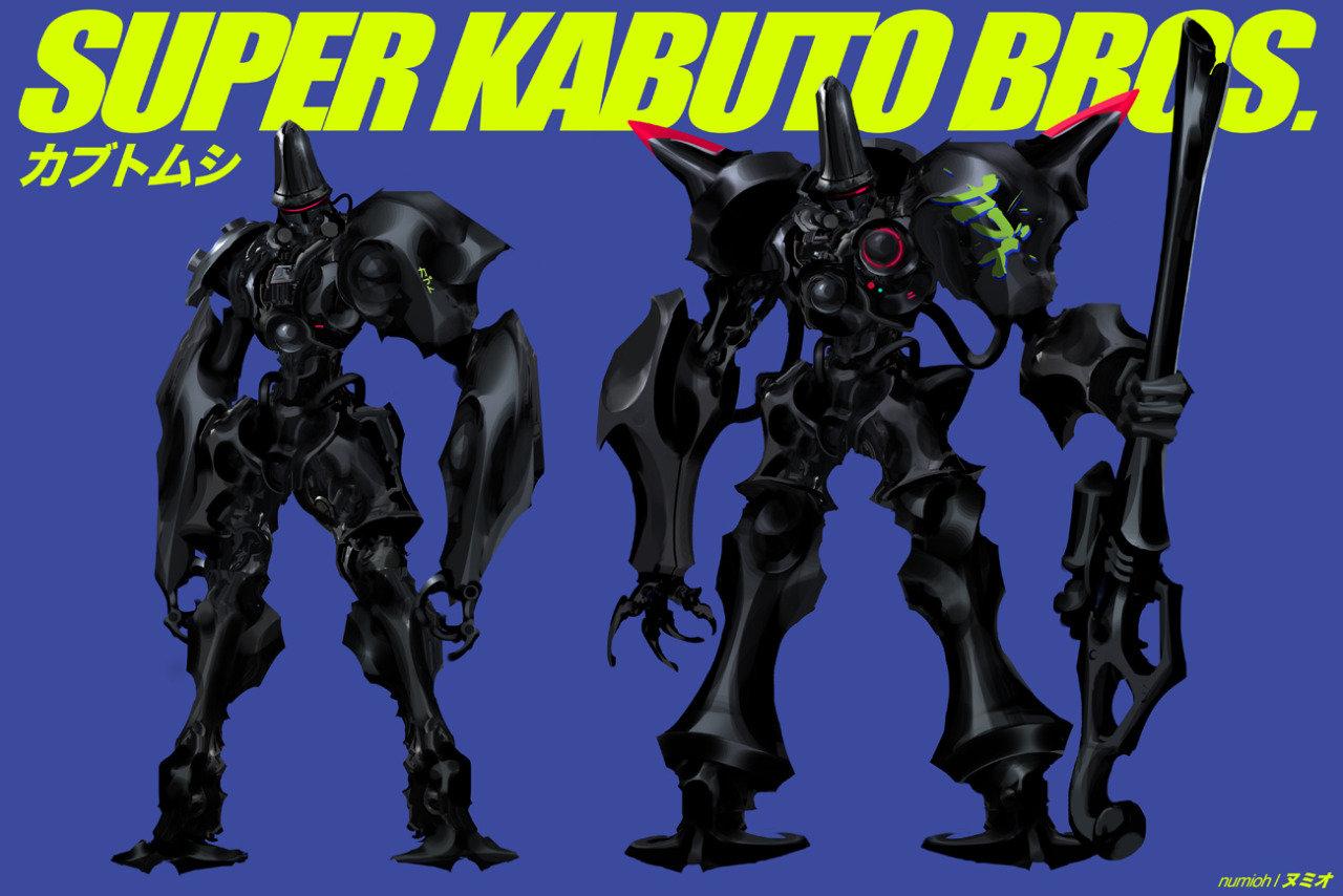 Super Kabuto Bros.
