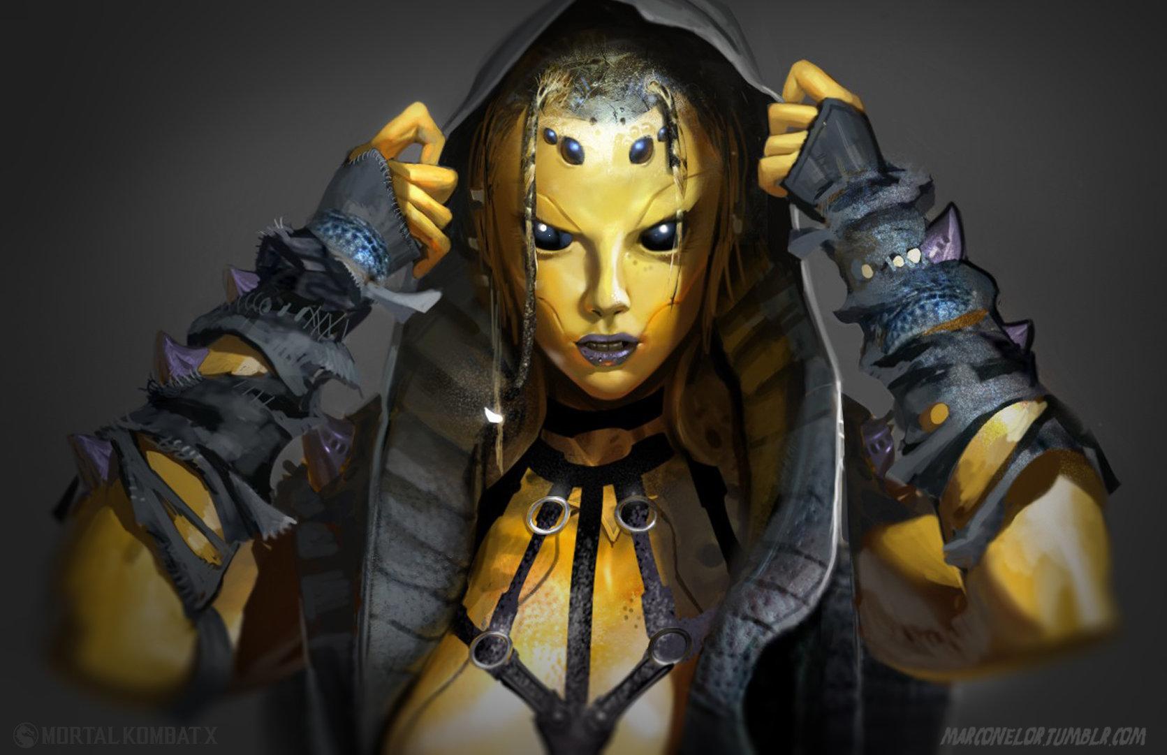 mortal kombat x characters female