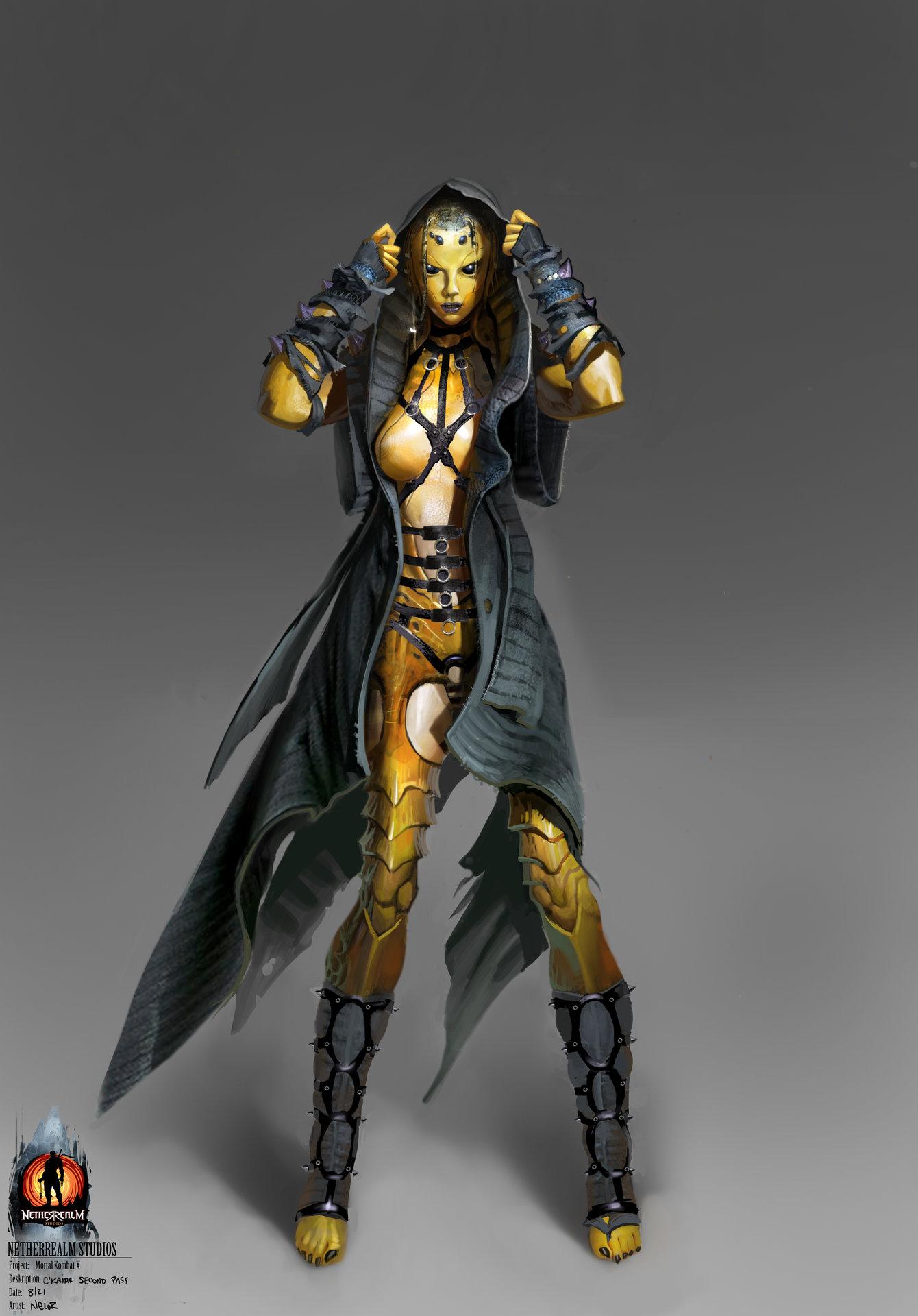 Artstation D Vorah Character Development Mortal Kombat X