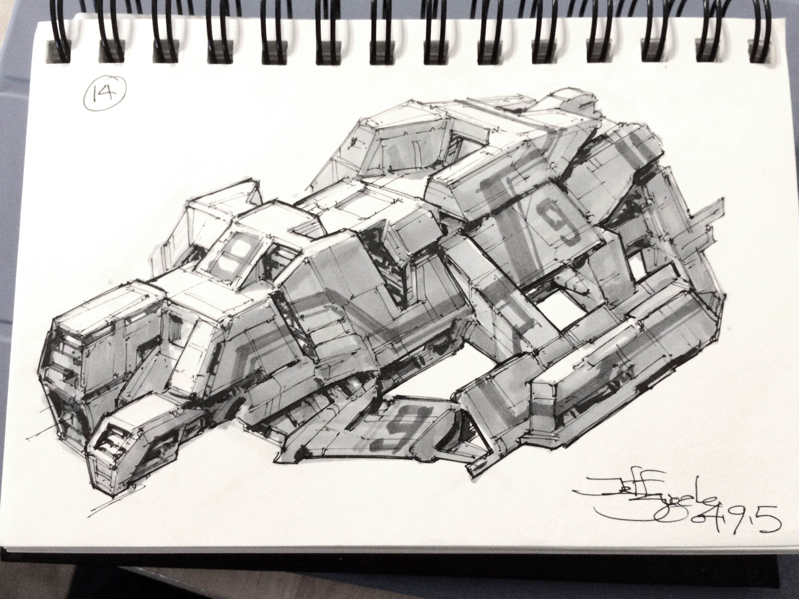 SpaceshipADay 014